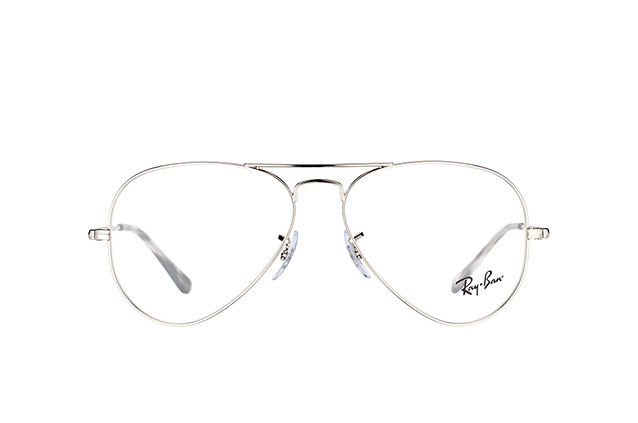 Ray-Ban Aviator RX 6489 2501 S perspective view