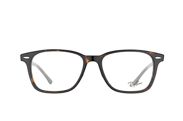 RAY BAN RAY-BAN Brille » RX7119«, braun, 2012 - braun