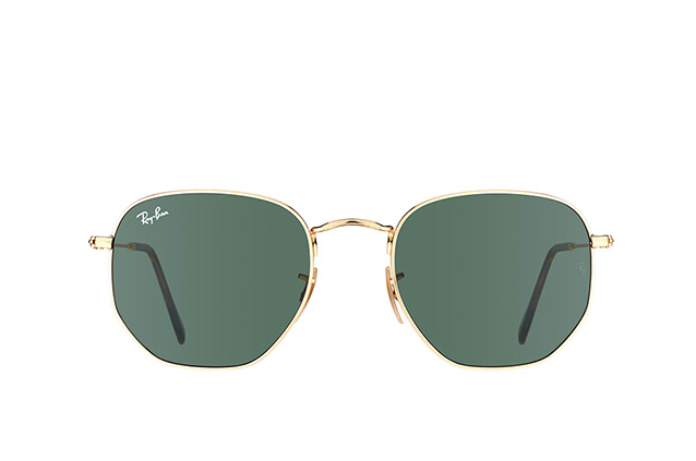 Ray-Ban Hexagonal RB 3548N 001 L Perspektivenansicht