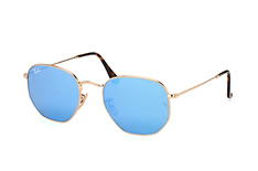 Ray-Ban Hexagonal RB 3548N 001/9O L small