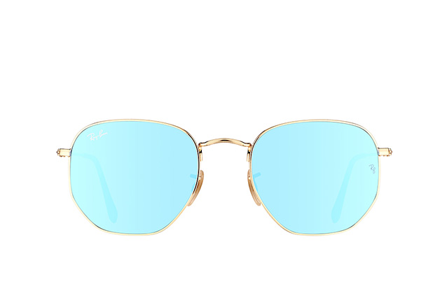 Ray-Ban Hexagonal RB 3548N 001/9O L Perspektivenansicht