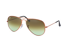 Ray-Ban Aviator RB 3025 9002/A6 large liten