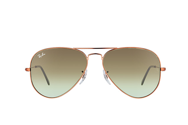 Ray-Ban Aviator large RB 3025 9002/A6 small