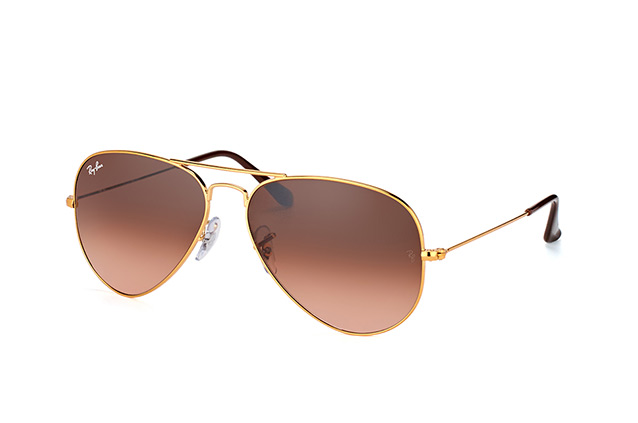 Ray-Ban Aviator large RB 3025 9001/A5 perspective view
