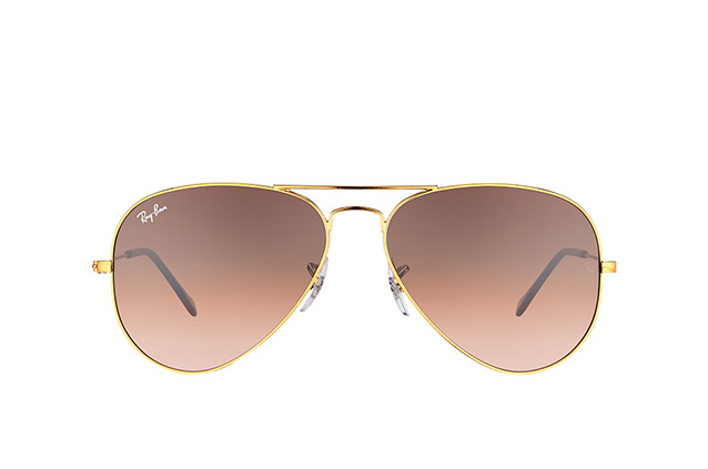 Ray-Ban Aviator large RB 3025 9001/A5 Perspektivenansicht