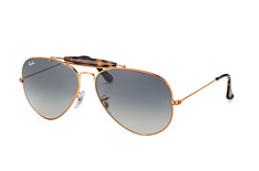Ray-Ban Outdoorsman II RB 3029 197/71, Aviator Sonnenbrillen, Goldfarben
