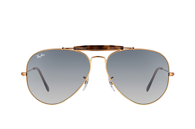 Ray-Ban Outdoorsman II RB 3029 197/71 Perspektivenansicht