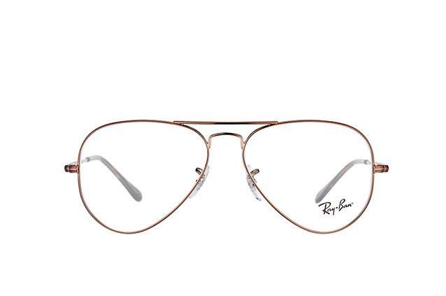 Ray-Ban Aviator RX 6489 2531 S small