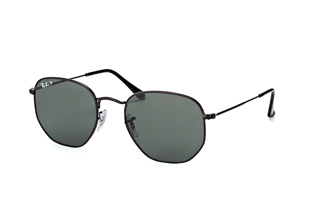 Ray-Ban Hexagonal RB 3548N 002/58 L perspective view