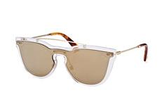 Valentino VA 4008 5024/5A, Singlelens Sonnenbrillen, Goldfarben