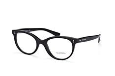 Valentino VA 3009 5001, Butterfly Brillen, Schwarz