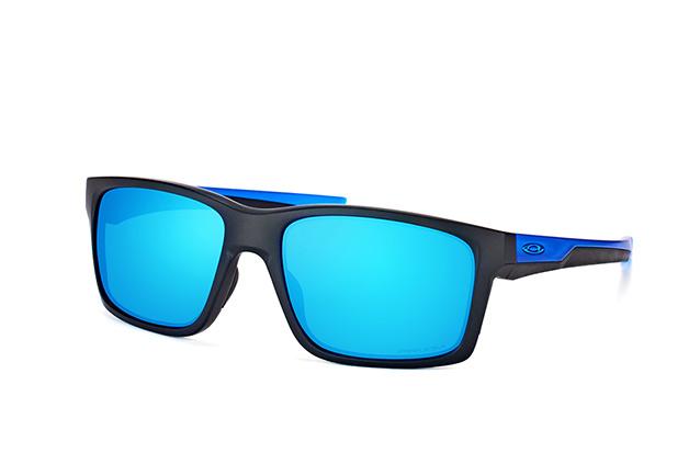 Oakley Mainlink Prizm Polarized Sonnenbrille Schwarz/Blau 58r9Mjc