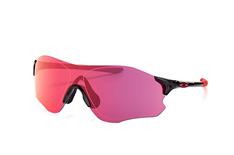 Oakley Evzero Path OO 9308 16, Sporty Sonnenbrillen, Schwarz