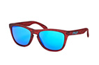 Oakley Frogskins OO 9013 A4 Red / Brown perspective view thumbnail