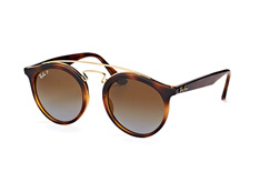 Ray-Ban RB 4256 710/t5 large, Aviator Sonnenbrillen, Goldfarben