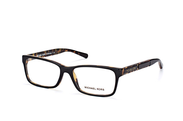 MICHAEL KORS Michael Kors Damen Brille »KYA MK4043«, schwarz, 3255 - schwarz