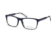 Emporio Armani EA 3120 5572, Square Brillen, Blau auf Rechnung bestellen
