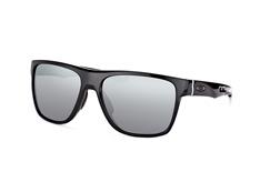 Oakley Crossrange XL OO 9360 07, Square Sonnenbrillen, Schwarz