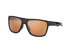 Oakley Crossrange XL OO 9360 06, Square Sonnenbrillen, Schwarz