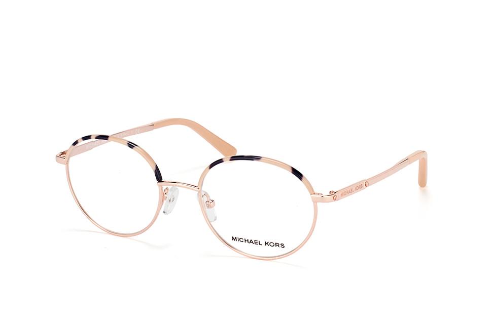 MICHAEL KORS Michael Kors Damen Brille »CAPTIVA MK4054«, braun, 3354 - braun