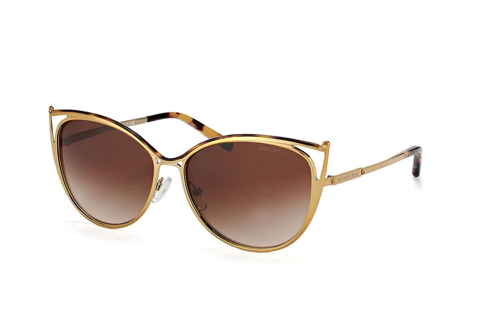 Michael Kors Sonnenbrille Mk1019, Uv400, golden bunt