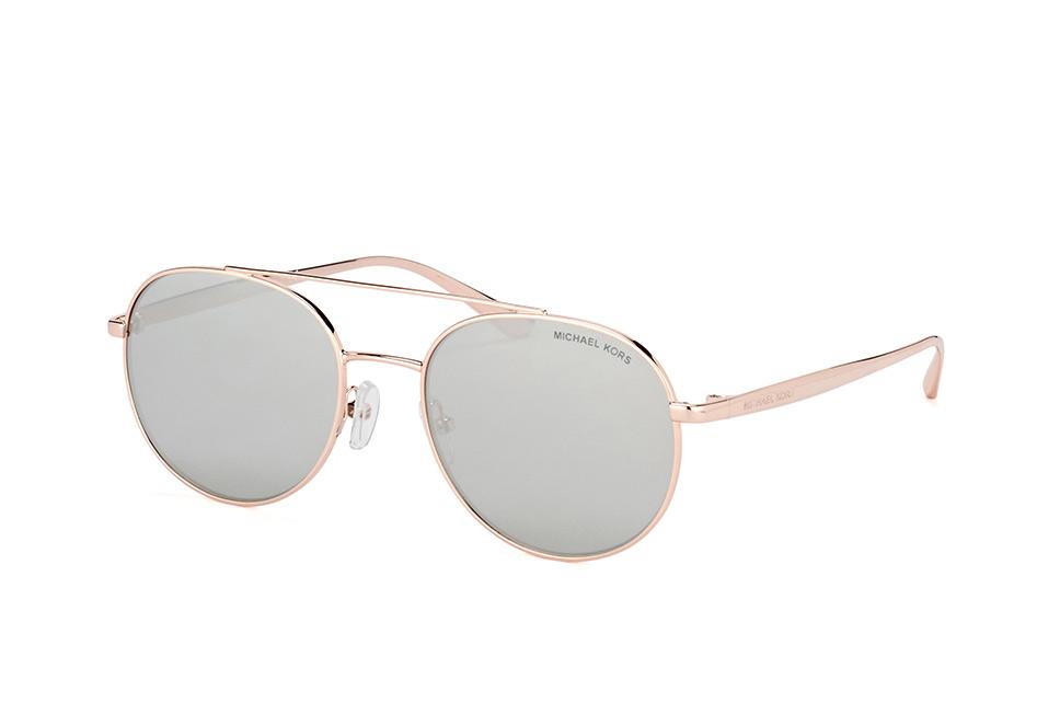 MICHAEL KORS Michael Kors Damen Sonnenbrille »HAVANA MK1025«, goldfarben, 12037I - gold/braun
