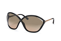 Tom Ford Bella FT 529/s 01B, Butterfly Sonnenbrillen, Schwarz