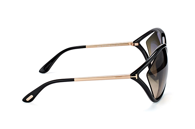 Tom Ford Bella FT 529/S 01B perspective view