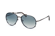 Tom Ford Dickon FT 527/s 08B, Aviator Sonnenbrillen, Silber