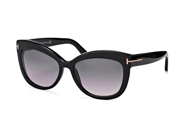 Tom Ford Alistair FT 524/S 01B vue en perpective