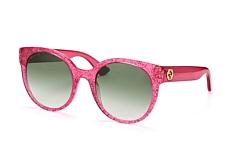 Gucci GG 0035S 005, Butterfly Sonnenbrillen, Rosa