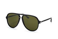 Gucci GG 0015S 001, Aviator Sonnenbrillen, Schwarz