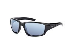 Alpina Keekor A8565 3.31 black, Sporty Sonnenbrillen, Schwarz