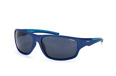 Polaroid PLD 7010/s ZX9 C3, Sporty Sonnenbrillen, Blau