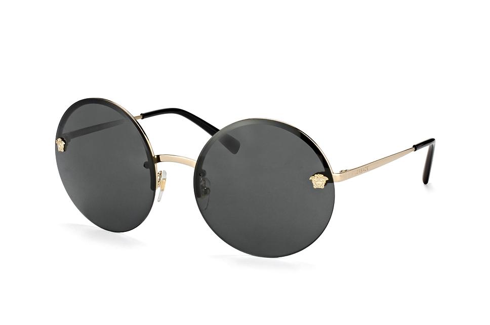 Versace Damen Sonnenbrille » VE2176«, goldfarben, 125213 - gold/braun