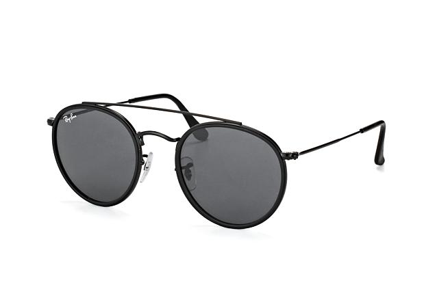RAY BAN RAY-BAN Damen Sonnenbrille » RB3647N«, schwarz, 002/R5 - schwarz/grau