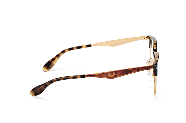 RAY BAN RAY-BAN Herren Brille » RX6396«, goldfarben, 2933 - gold