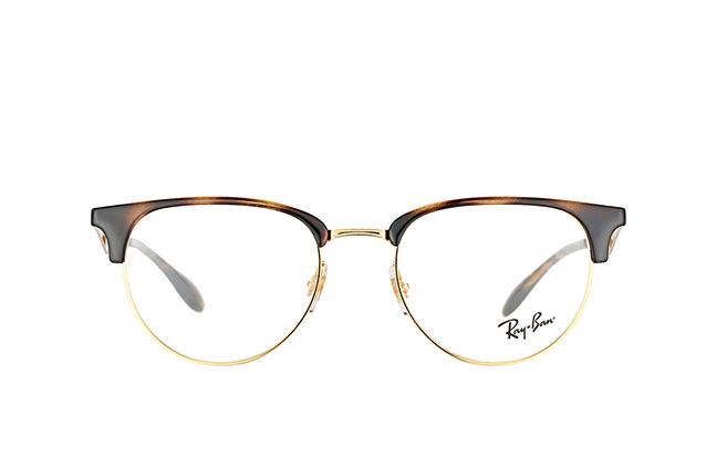 RAY BAN RAY-BAN Herren Brille » RX6396«, goldfarben, 2933 - gold