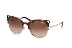 Vogue Eyewear VO 5137S W65613, Butterfly Sonnenbrillen, Goldfarben