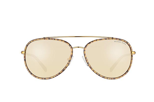 MICHAEL KORS Michael Kors Damen Sonnenbrille »IDA MK1019«, goldfarben, 11645A - gold/braun