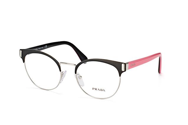PRADA Prada Damen Brille » PR 63TV«, schwarz, 1BO1O1 - schwarz