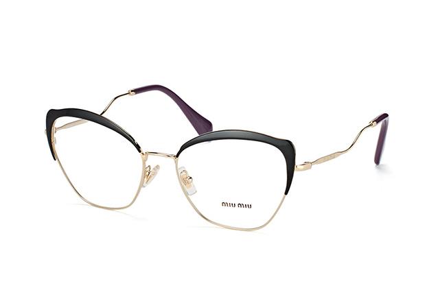 e242bf8c371 ... Glasses  Miu Miu MU 54PV AB1O1. null perspective view ...
