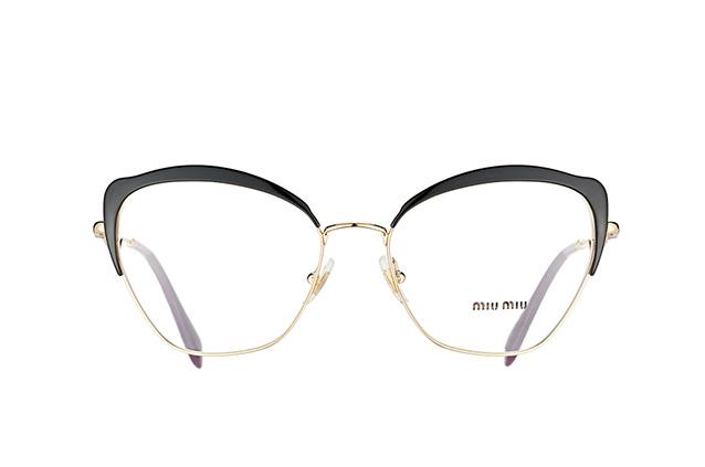 9d0286b3f77 ... Glasses  Miu Miu MU 54PV AB1O1. null perspective view  null perspective  view  null perspective view