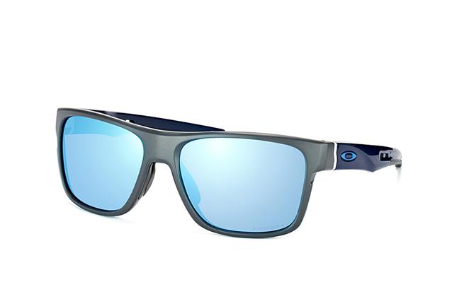 Oakley Crossrange Sonnenbrille Mattes Dunkelgrau OO9361-09 Polarisiert 57mm QKIm4