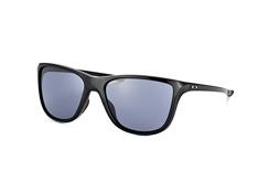 Oakley Reverie OO 9362 01, Square Sonnenbrillen, Schwarz
