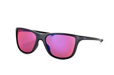 Oakley Reverie OO 9362 04, Square Sonnenbrillen, Schwarz