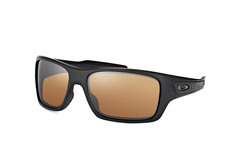 Oakley Turbine OO 9263 40, Rectangle Sonnenbrillen, Schwarz