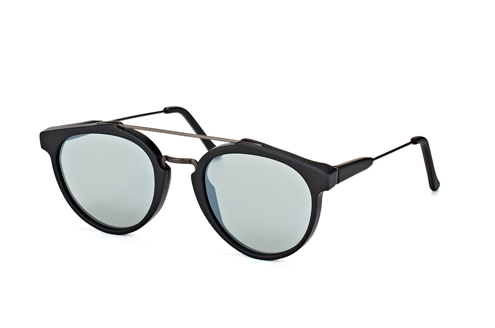 Super by Retrosuperfuture Giaguaro Black H08/r, Aviator Sonnenbrillen, Schwarz
