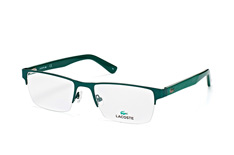 Lacoste L 2237 315, Rectangle Brillen, Gruen