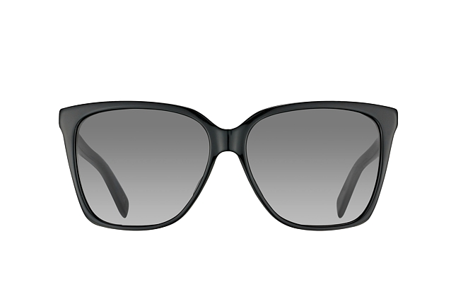 Saint Laurent Damen Sonnenbrille SL 175 001, Black/Grey, 56
